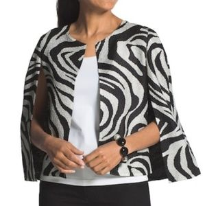 NWT Chico's Animal Print Cape size 0